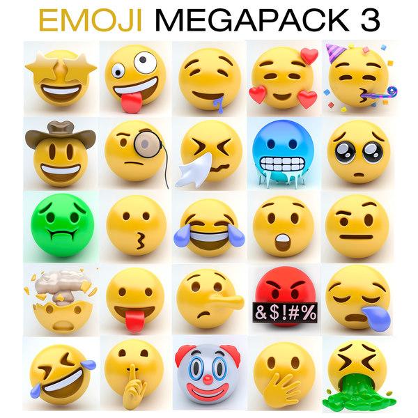 emoji megapack 3 model