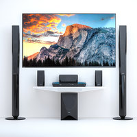 3D model home theater sony bdv-e4100