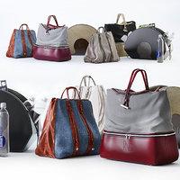 set bags dandy - 3D
