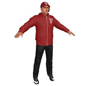 american football coach 4 model