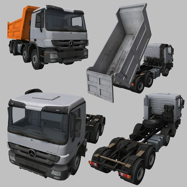 3D real-time actros 3340 4140