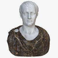 3D napoleon bust 2