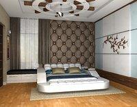 3D bedrooms interior model