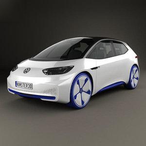 volkswagen id d 3D model