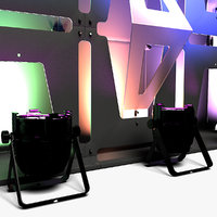 3D stage decor 33 modular model