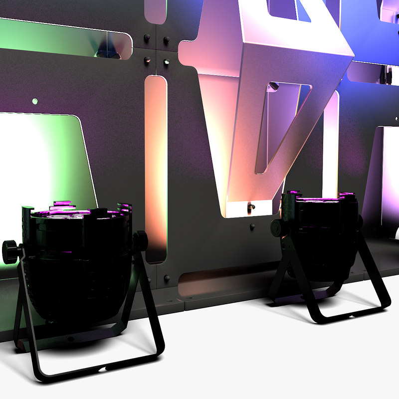 3D stage decor 33 modular model