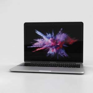 apple macbook mac 3D model