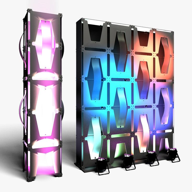 3D stage decor 35 modular