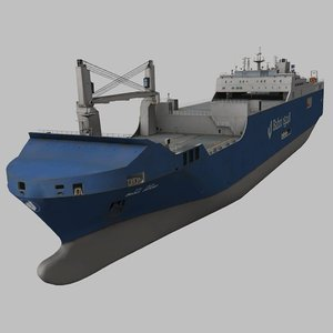 real-time ro-ro cargo 3D model