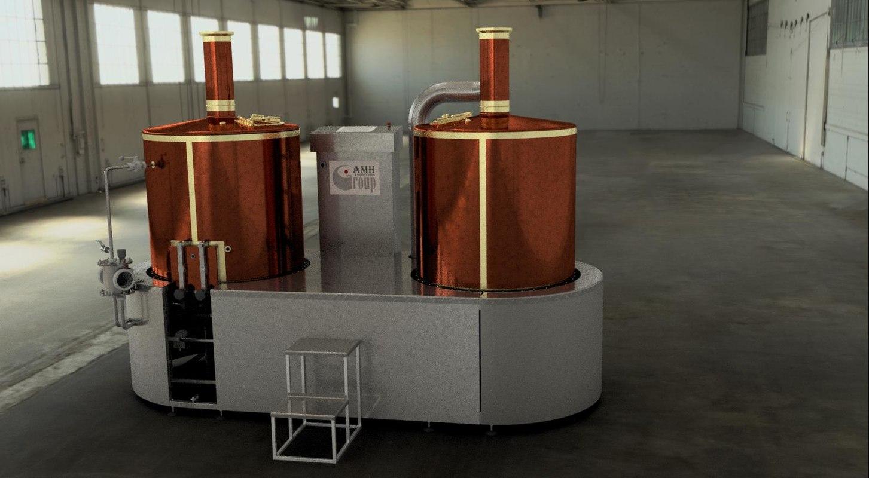 3D brewery pump
