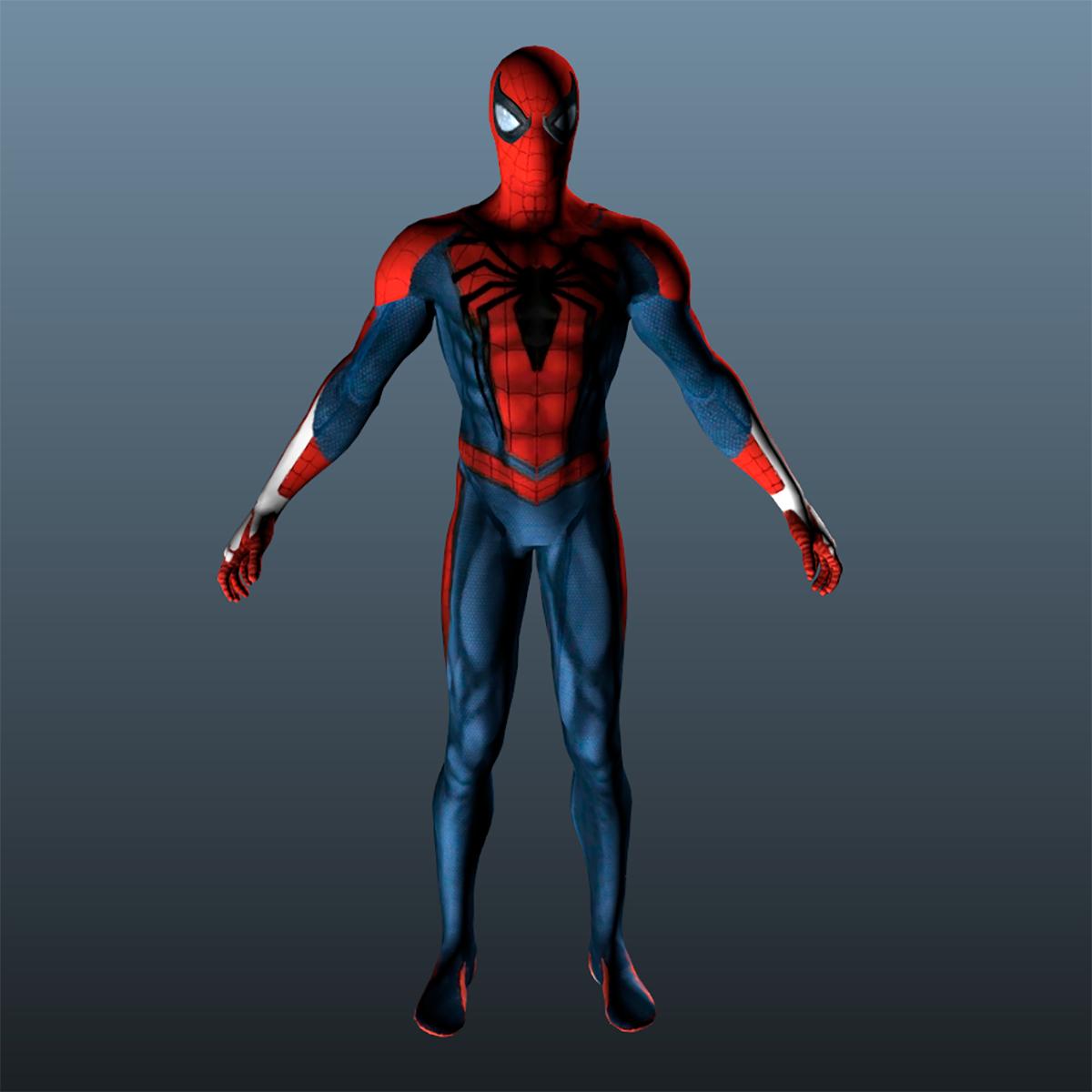 3d Man Spiderman Spider Turbosquid 1325791