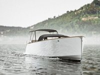 Boat with wake setup