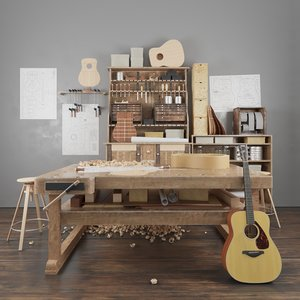guitar workshop 3D