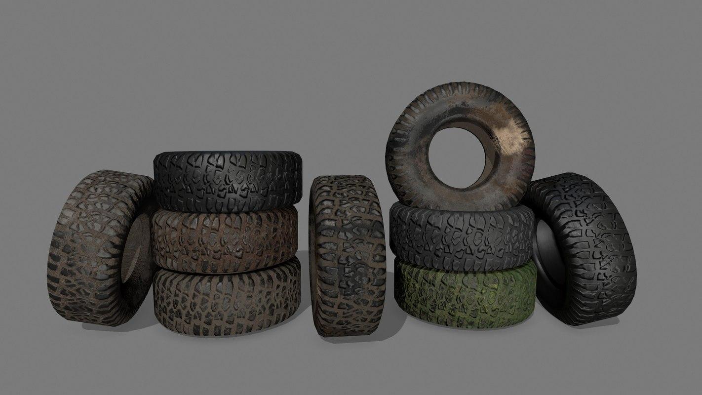 3D tire 4