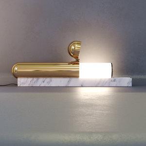 isp table lamp dcw 3D model