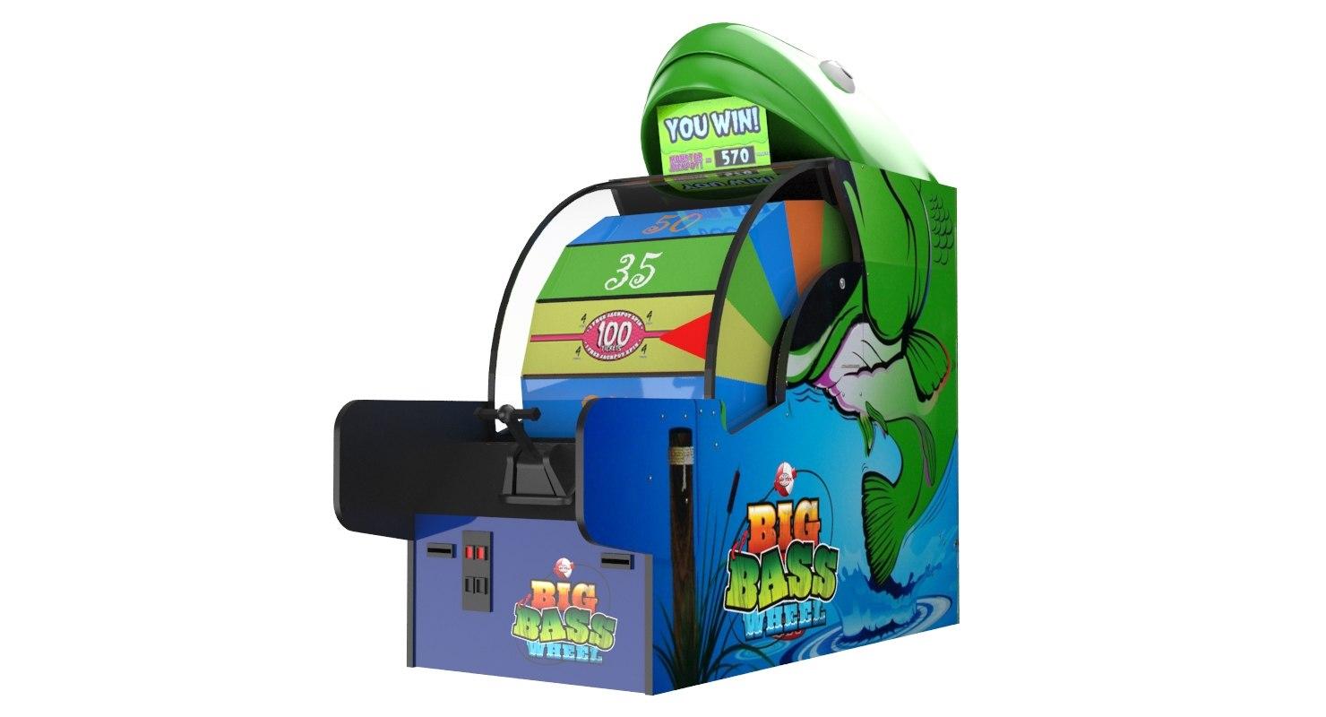 ticket monster arcade 3D model