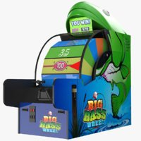 ticket monster arcade 3D model