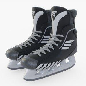 3D hockey skates