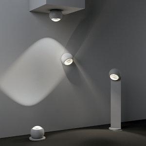 3D outdoor lamps occhio sito model