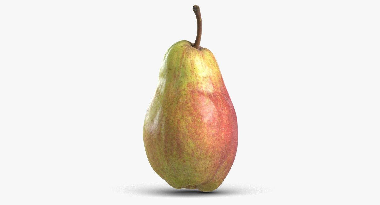 pear 3 3D