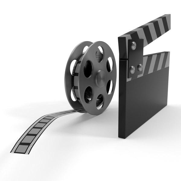 3D film reel cap