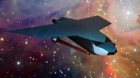 3D spaceship