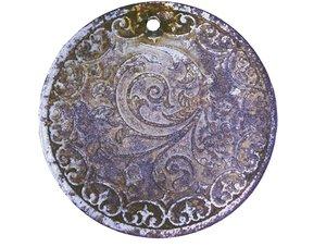 3D vintage locket