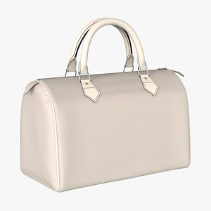 3D luxury handbag