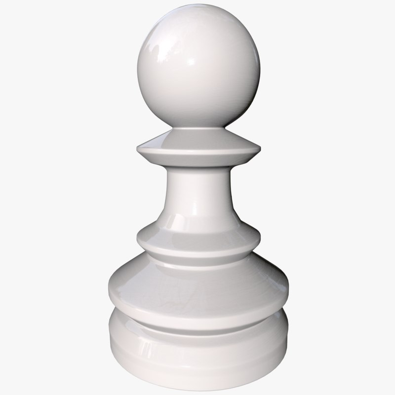 chess pawn 3 0 3D model