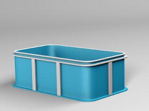 pool plastic model