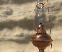 old oil lamp light model