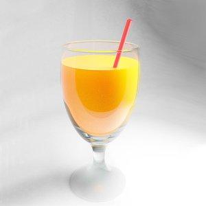 3D juice model