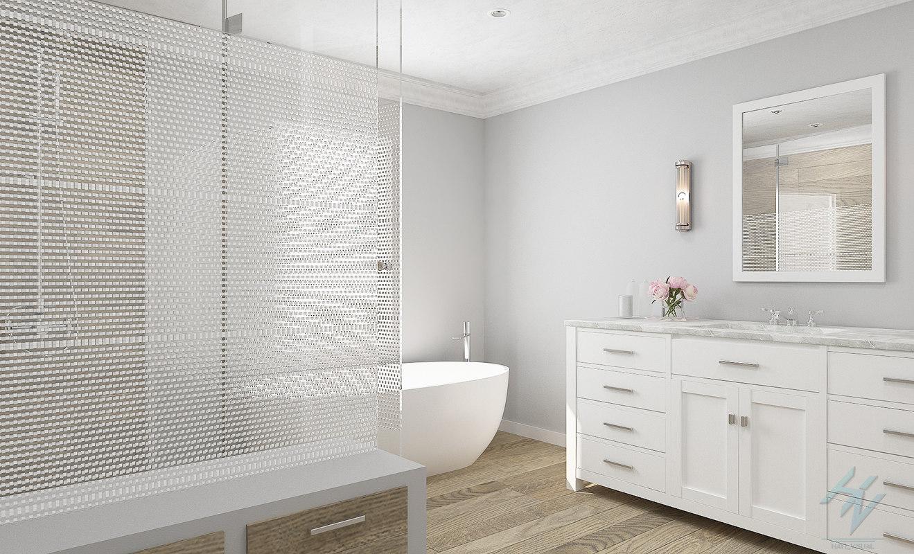 bathroom b3 3D model