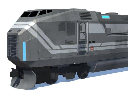 scifi train model