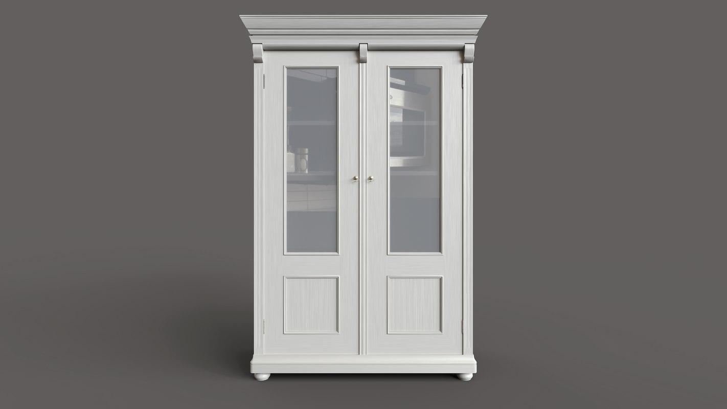 3D china cupboard