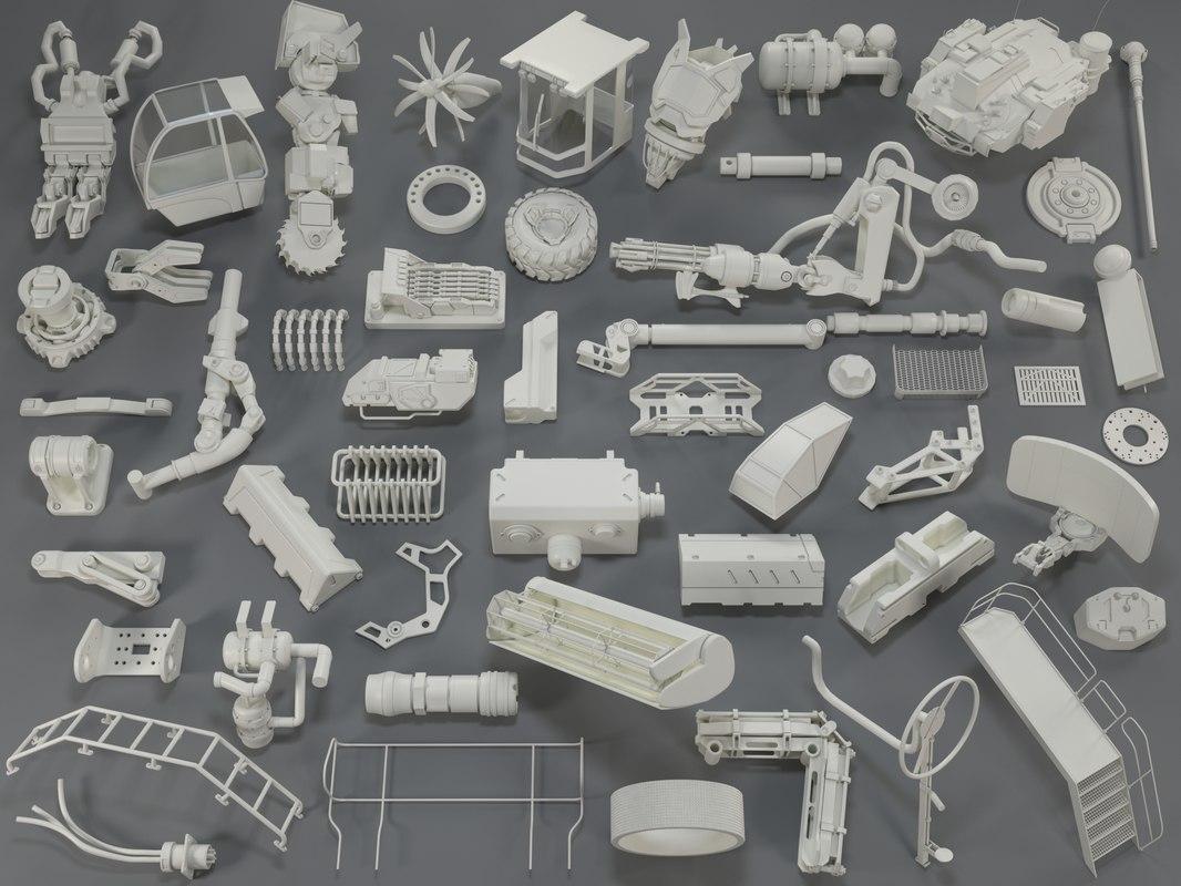 3D kit bashes - 54