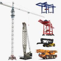 3D cranes 2 model