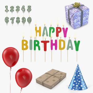 happy birthday 3D model