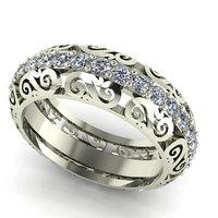 scrolls ring 3D model