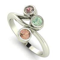 3D delicately ring model