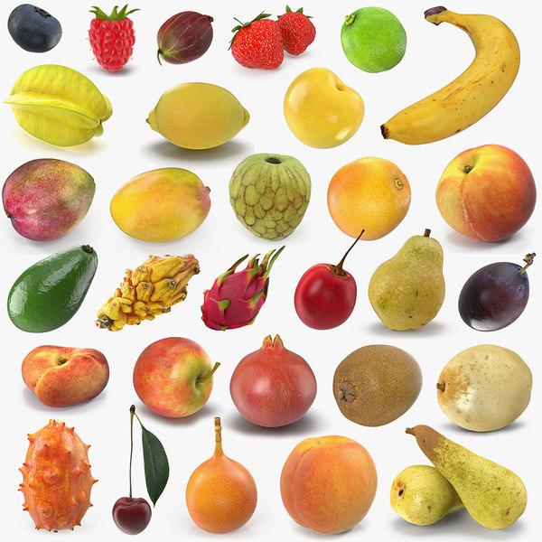 3D model fruits 5