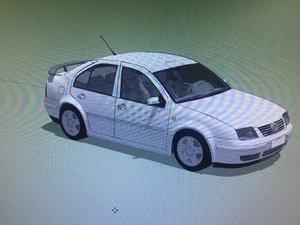 bora mk4 jetta 3D