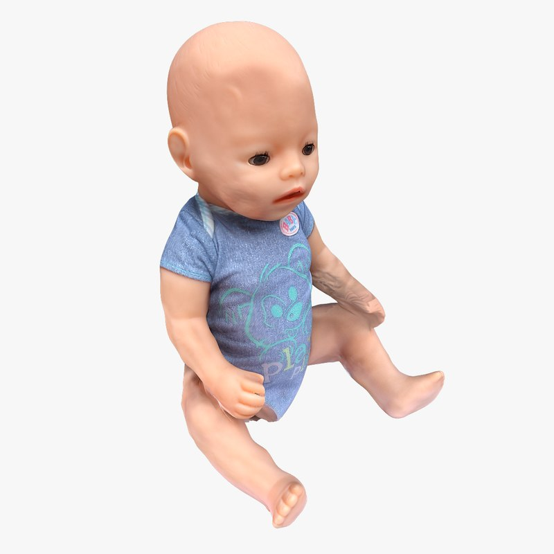 3D baby doll