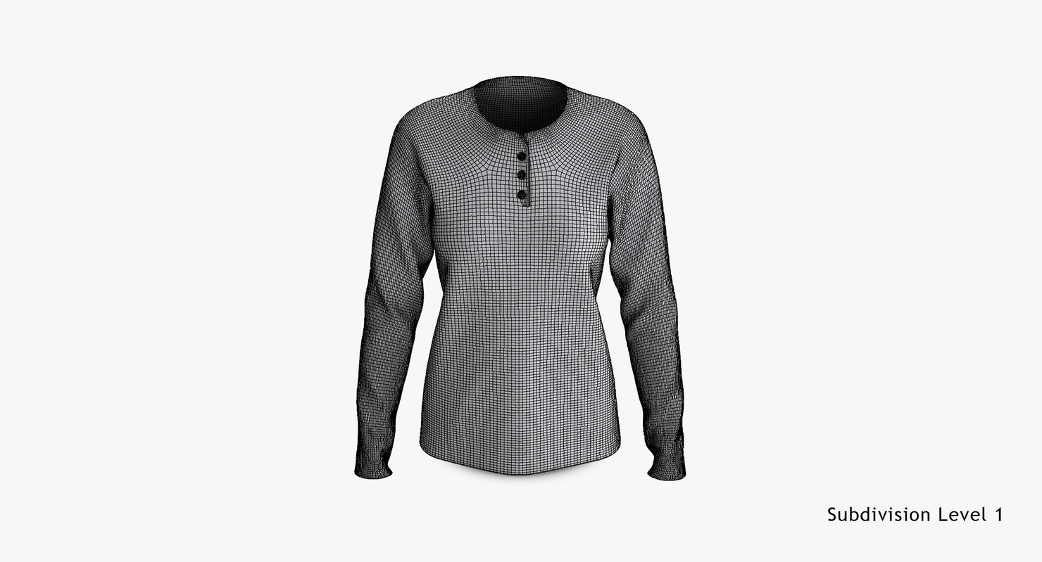 3D cotton female t-shirts dropped