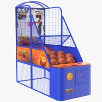 basketball arcade ball 3D model