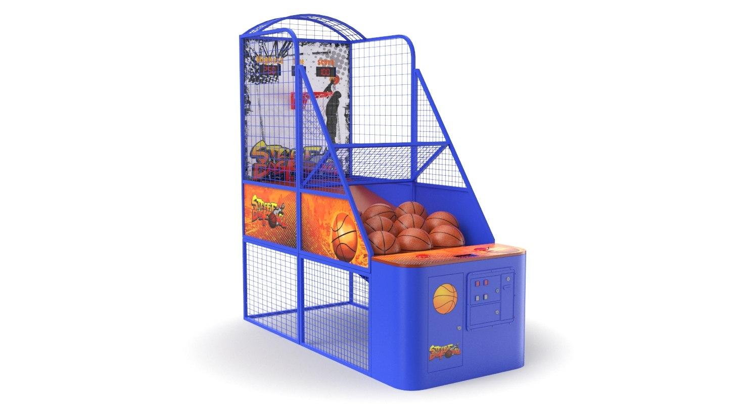 basketball arcade ball 3D model