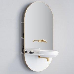 3D arco washbasin