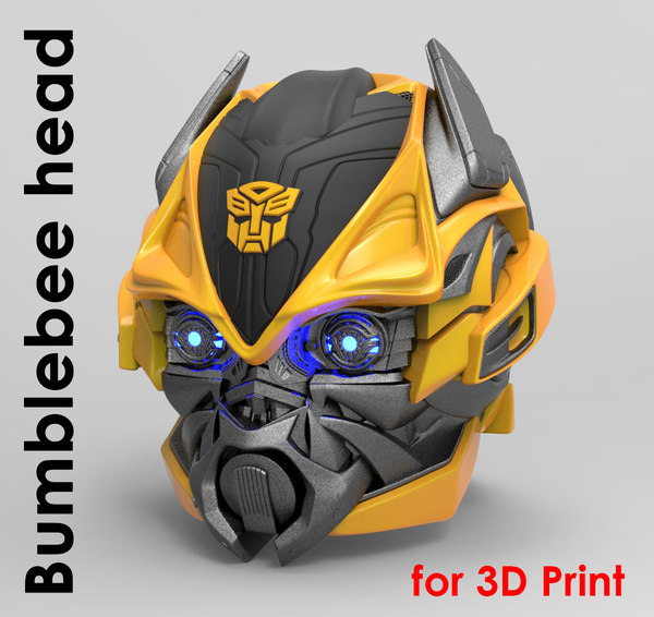 3D bumblebee normal mode printing model