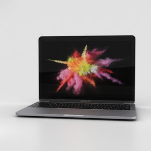 3D apple macbook mac