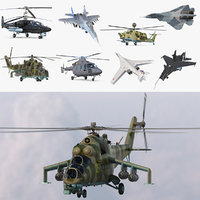 Russian Military Aircrafts Collection